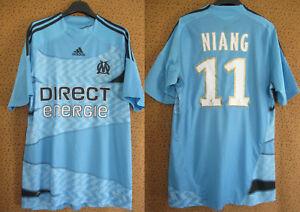 Maillot Olympique Marseille shirt 2009 exterieur Niang #11 OM Neuf Telecom - M