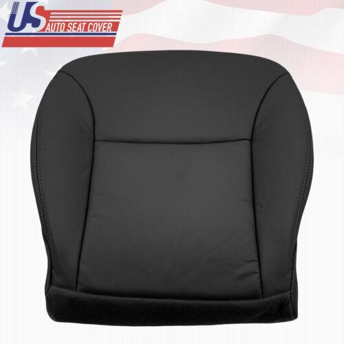 Fit 02-06 Lexus ES300 ES330 Driver Bottom Replacement Leather Seat Cover Black