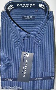 Camicia-classica-uomo-Attore-mezza-manica-collo-classico-art-104