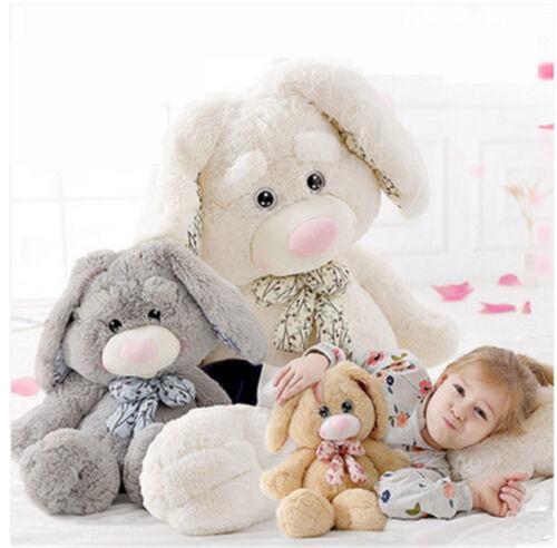 47/'/' Giant Plush Bunny Doll Big Soft Stuffed Long Ear Rabbit Toy 4 Colors 2 Size