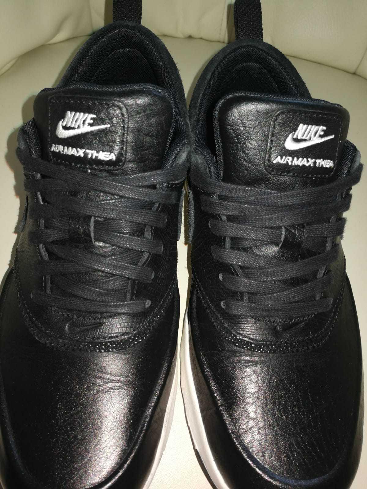 Nike Air Max Thera Thera Max Sneake-Schuhe - Leder in Schlangen Optik - NEUWERTIG - Gr. 38 47b009