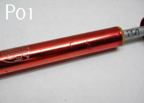 Vintage SILCA Impero Bicycle Pump Red Anodized Size 44-46-50