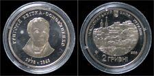 Ukraine 2 hriwen 2008- Commemorative coin- H.Kvitka