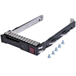 New-HP-G8-Gen8-651687-001-Chip-LED-2-5-034-SFF-SAS-SSD-Tray-Caddy-DL380p-Server-G9