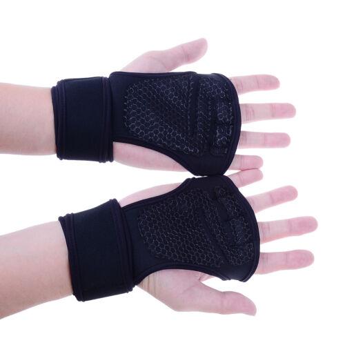 Unisex Fitness Handschuhe Gewichtheben Gym Sport Workout Training Handgelen C,s