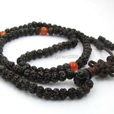 Ruyi Ru Yi Bodhi Seed Tibet Buddhist 108 Prayer Beads Mala Necklace Bracelet