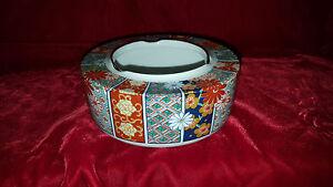 Imari-Fan-Fine-China-by-Arita-bowl-ashtray-with-gold-trim