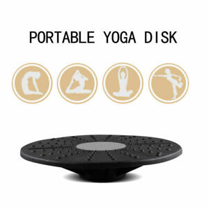 Black-and-Grey-Sport-Yoga-Fitness-Board-Training-Exercise-Wobble-Balance-Board