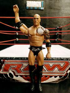 THE-ROCK-WWE-Mattel-action-figure-BASIC-kid-toy-PLAY-Wrestling-ATTITUDE-ERA-WWF