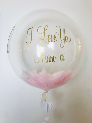 Personalised balloon transfer sticker for balloons birthdays party Baby Shower