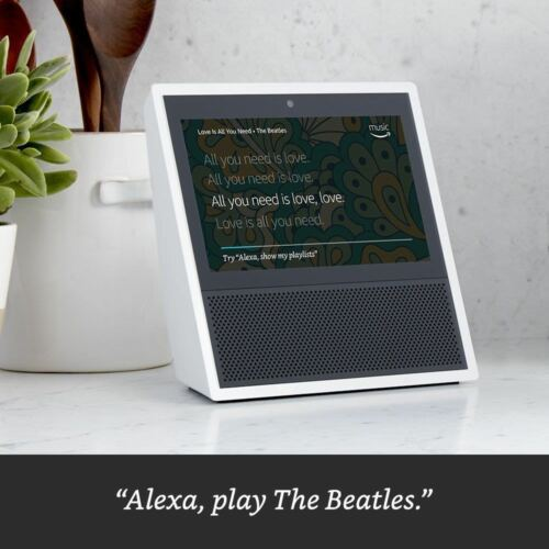 Amazon Echo Show Alexa Smart Home Control with Video White NEW