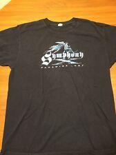 Symphony Paradise Lost 2007 Concert Tour Graphic T-Shirt Black Band XL