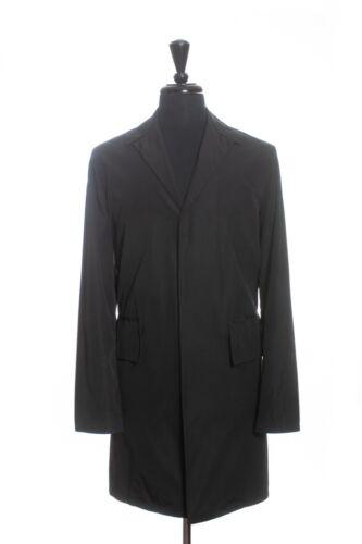 Bottega Veneta Black MP Trench Coat Medium 12574