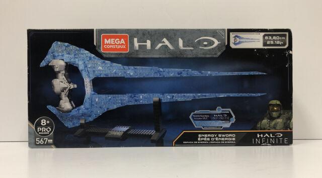 Mega Construx HALO Infinite Energy Sword Construction Set NEW Damage Box!