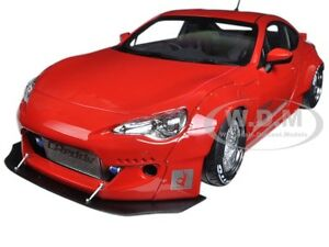 ROCKET-BUNNY-TOYOTA-86-METALLIC-RED-WITH-SILVER-WHEELS-1-18-BY-AUTOART-78757