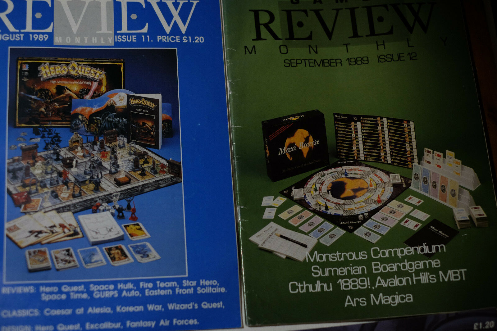 Games Review Monthly Heft 1-17 - komplett October 88 to February 1990