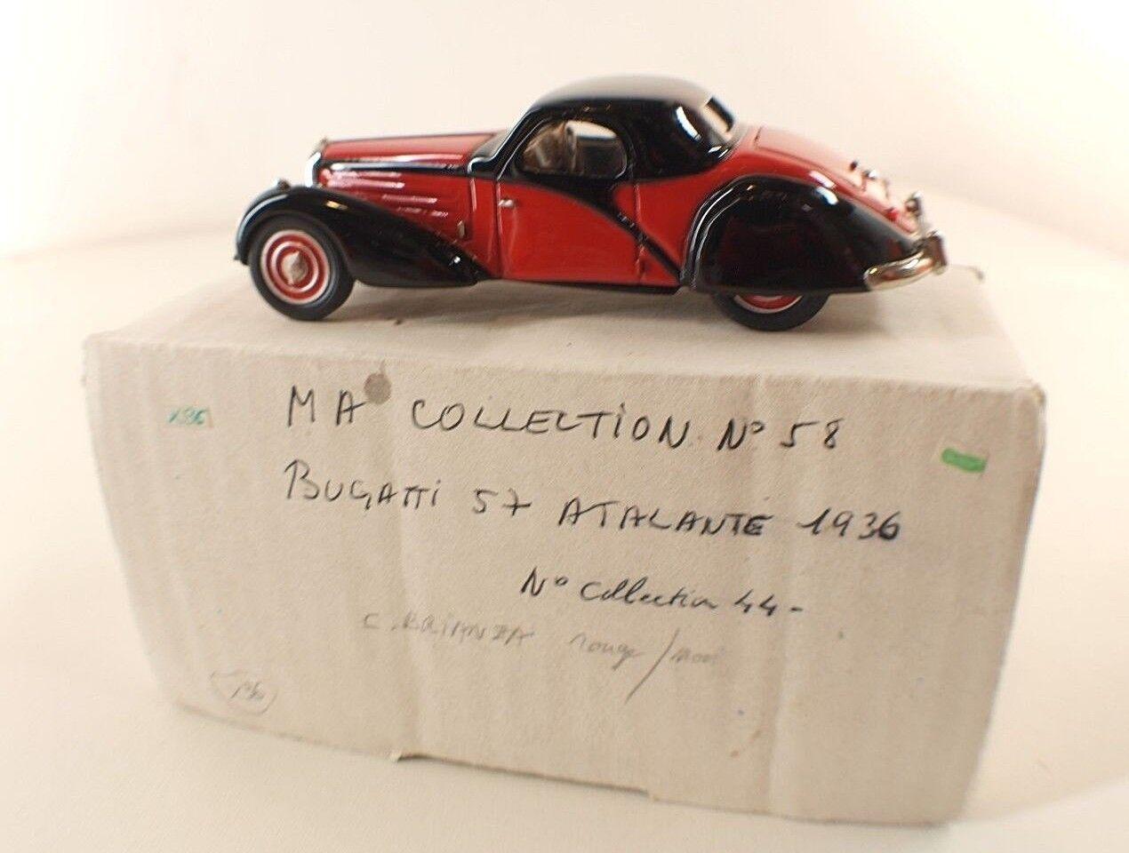 Ma Collection (Suisse)  n° 58 Bugatti  57 Atalante 1936 Limited Ed n°44 1 43  livraison gratuite