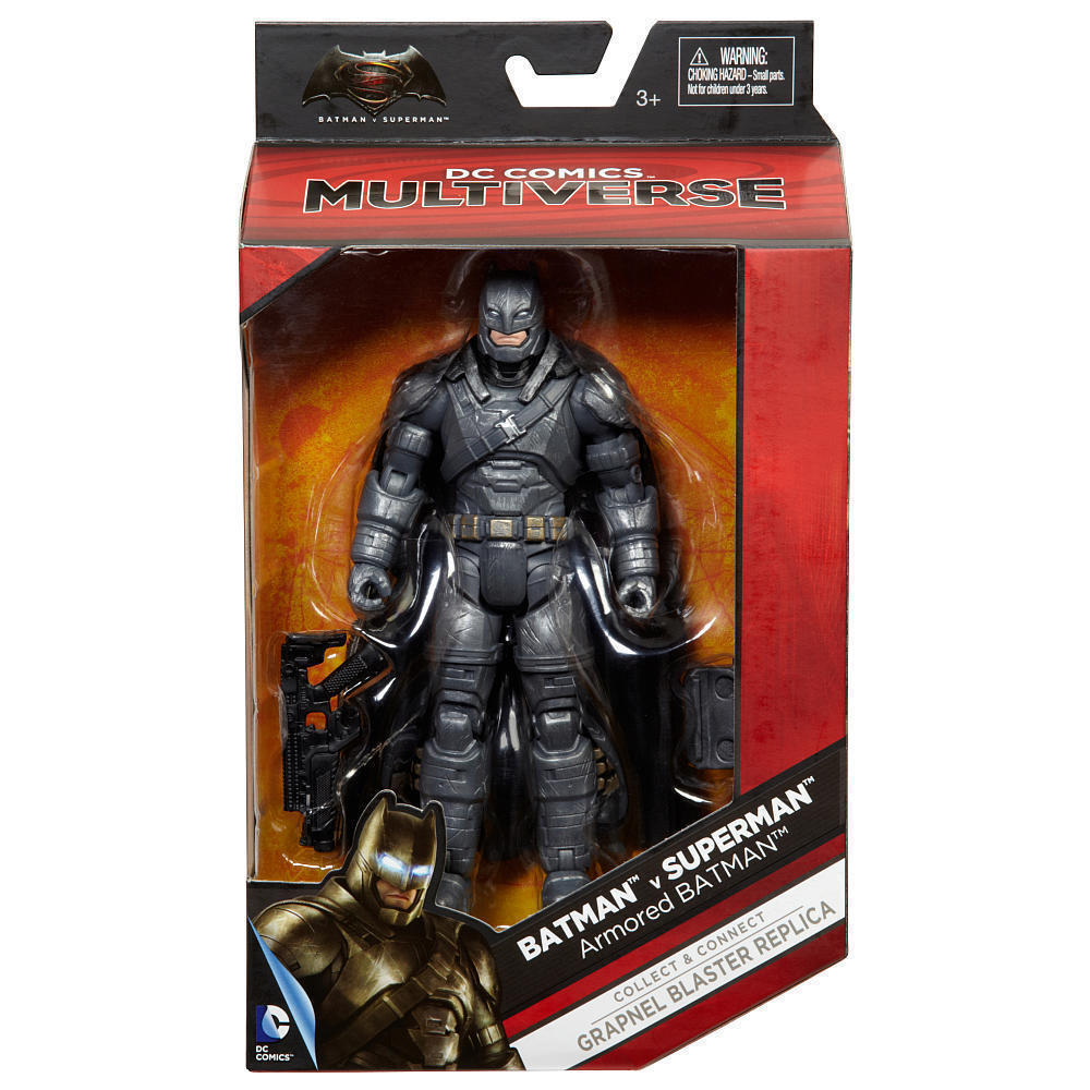 DC Multiverse BvS  6  ARMORED BATMAN ACTION FIGURE  Batman v. Superman