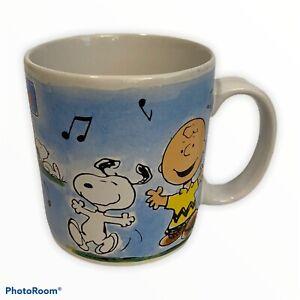 Snoopy Peanuts Coffee Mug Schulz Charlie Brown 36215 Dog House Dancing Applause