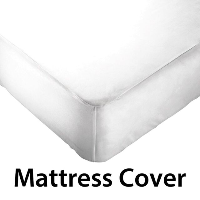 Fitted Waterproof Non-Allergic Washable Vinyl Mattress Cover/Protector - Queen