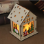 LED-Light-Wood-HOUSE-Cute-Christmas-Tree-Hanging-Ornaments-Holiday-Decoration thumbnail 15
