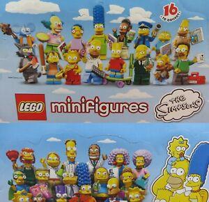 Figurines de collection Lego Simpsons séries 1 et 2 à sélectionner - Tout nouveau 71005 71009