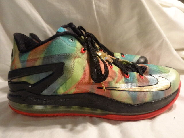 on sale c316c 1ccc7 DS Nike Air Max Lebron XI 11 Low Multi Color 11 for sale online   eBay