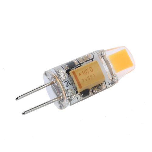 UK 10x Dimmable G4 LED COB 3W 6W Light Bulb Capsule Lamp Replace Halogen Bulbs