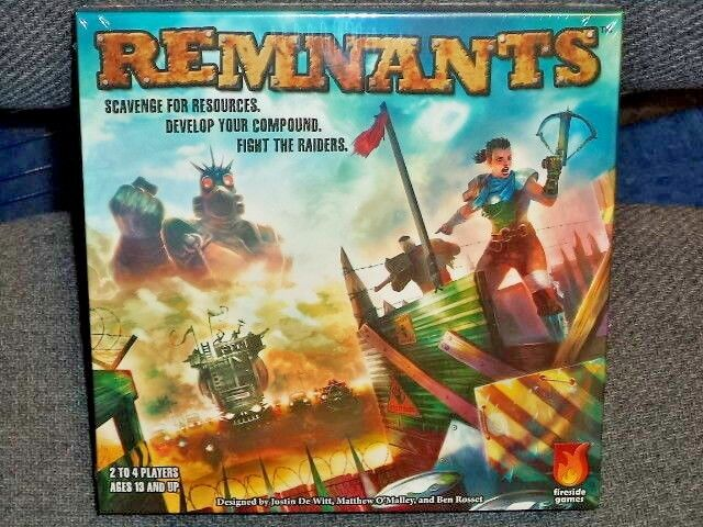 Remnants - Fireside Games Board Game New