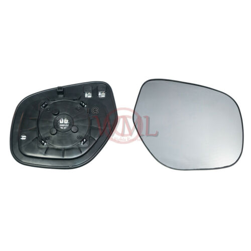 MITSUBISHI OUTLANDER 2010-/>2012 DOOR//WING MIRROR GLASS SILVER,HEATED /&BASE,RIGHT