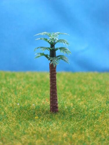 tP06-100pcs Scale Train Railway Layout Set Model Palm Trees N Z 40mm