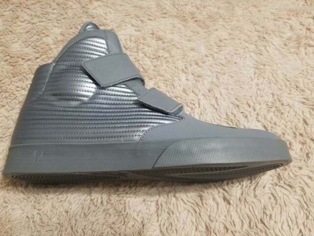 0ab484540ac Nike Flysteppers 2K3 Shoes Size 12 Gray MSRP  120 New Nike Shoes Silver  Velcro