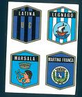 Fig. Calc.Panini 1972/73! N.550 Scudetti Latinja/Legnago/Marsala/M.Franca Ottima