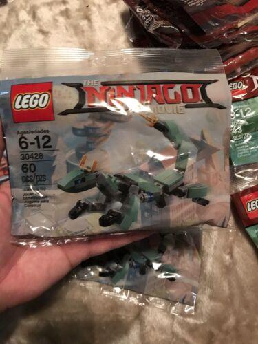 LEGO 30428 The LEGO Ninjago Movie Green Ninja Mech Dragon NEW /& Sealed Polybag