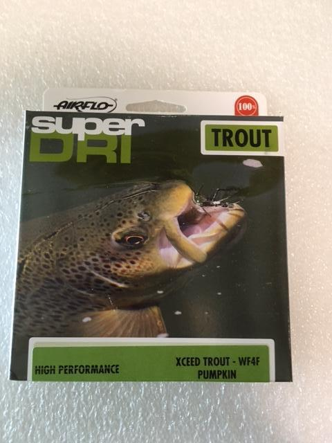 New.  Airflo Xceed Trout WF4F Fly Line