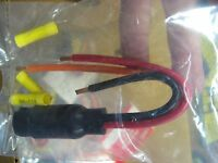 Rig Rite Female Trolling Motor Plug 10 Awg, 3 Wire & 3 Slot, 12 Or 24 Volt 495