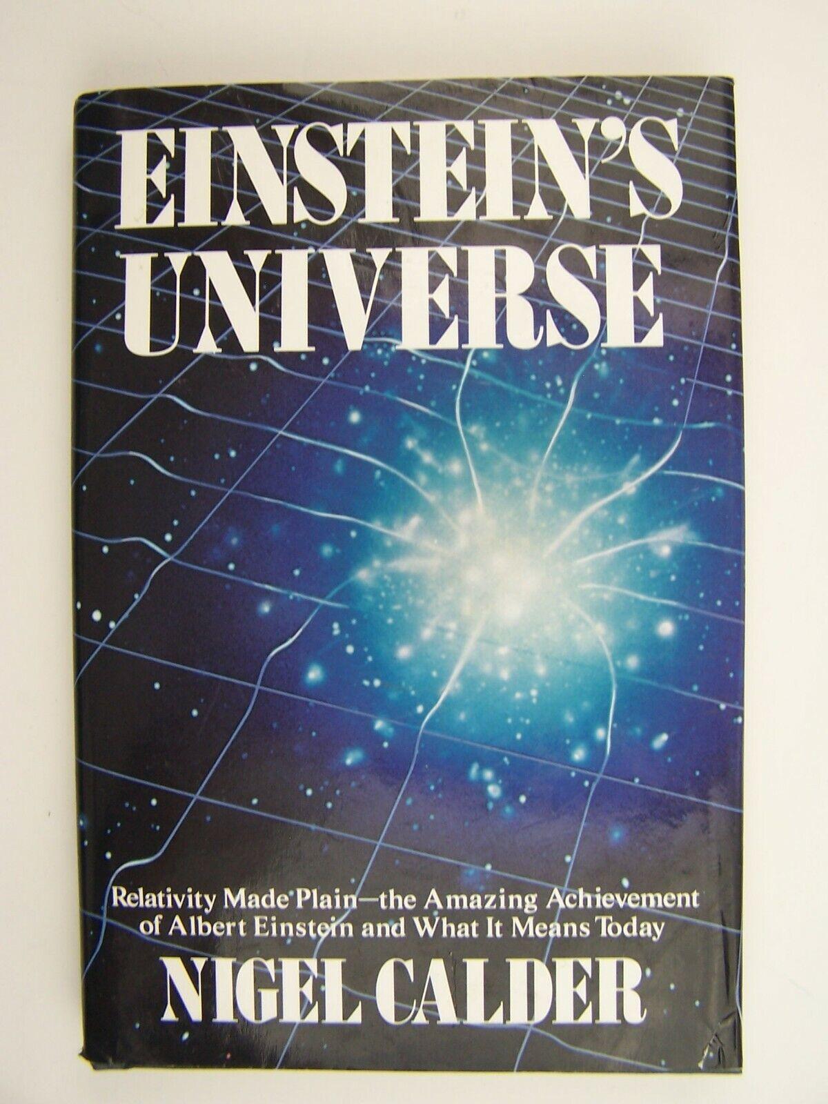 Einstein's Universe Hardcover by Nigel Calder