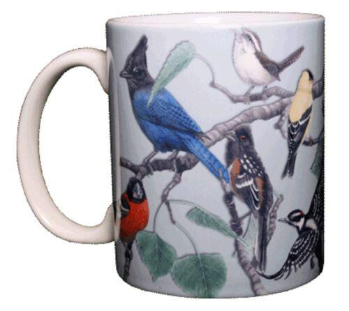 Birds of Western North America 11 OZ Ceramic Coffee Mug or Tea Cup