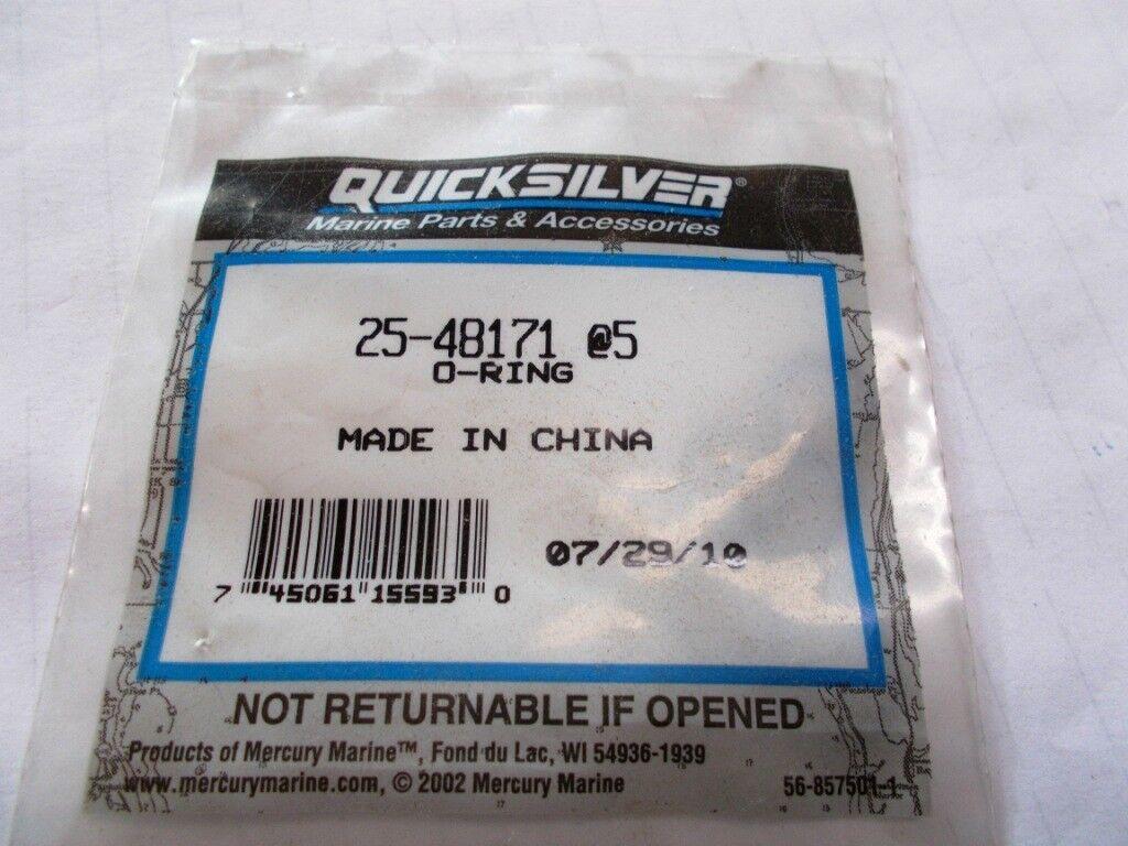 New OEM Mercruiser O-Ring Part Number 25-48171