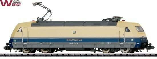 punto vendita Minitrix 16082.001 E-Lok BR 101 112-1  Rheinoro  DB DB DB EPOCA VI 1 160 Spur N  qualità di prima classe