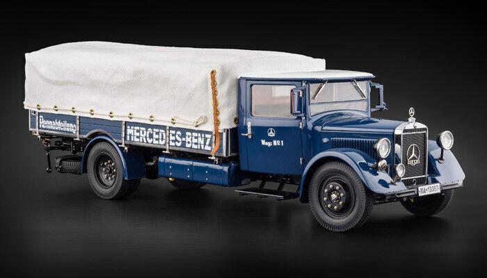 Mercedes-Benz Course Transporteur Voiture Camion Lo 2750 en 1 18 par Cmc M-144