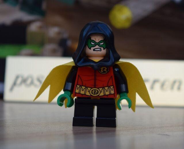 LEGO Minifigure -  Robin Damian Wayne - Brand New - Genuine LEGO DC Batman 76056