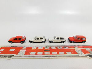 CG290-0-5-4x-AMW-H0-1-87-PKW-Modell-Volkswagen-VW-Polo-NEUW