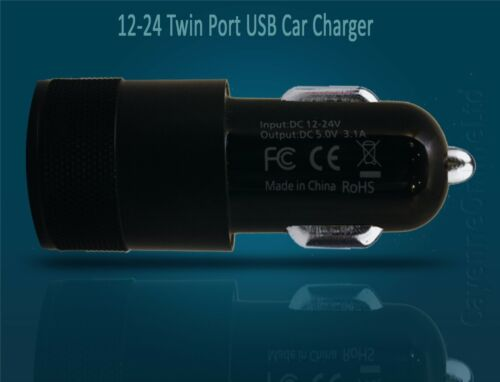 GOOGLE PIXEL 2 XL-en Coche Cargador rápido de doble más 3.1 Cable de carga tipo C