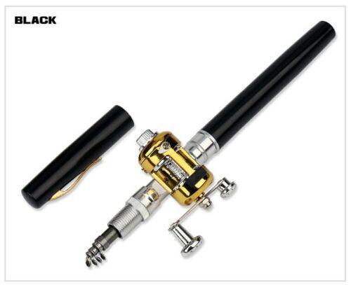 New Telescopic Mini Fishing Rod And Reel Pen Shaped