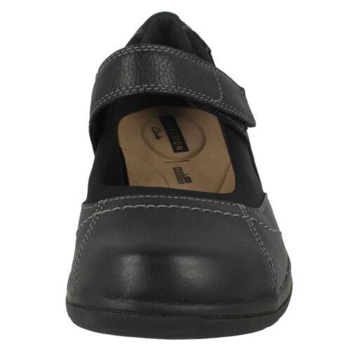 Cheyn Cuir Toile Clarks Boucle Crochet Chaussures Par Et Femmes dPpq6xd