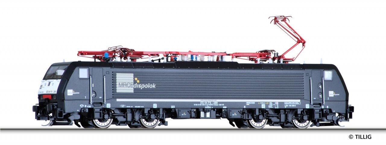 TT E-Lok br189 MRCE Ep. vi Tillig 02484 NUOVO