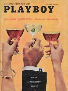 PLAYBOY DECEMBER 1959 6th Anniversary Issue Ellen Stratton Brigitte Bardot (5)