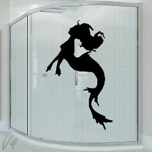 Image Is Loading Bathroom Cartoon Funny Sexy Girl Woman Lady Mermaid