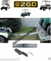 Ezgo Txt Golf Cart Trailer Hitch With 2 Receiver (free Shipping)